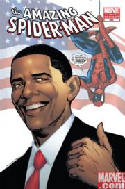 Amazing Spider-man #583 Barack Obama Variant 4th Fourth Print (2009) Marvel comic book